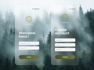 Daily UI - Sign Up mobile ui mobile signup dailyuichallenge ux design ux ui design ui