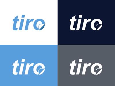 tiro logo design