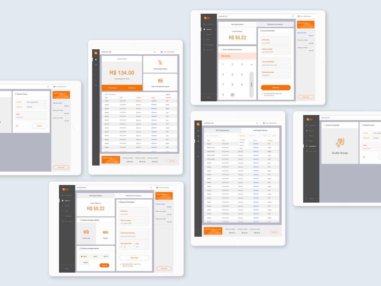 POS Dashboard uix uixdesign dashboard design dashboard app pos ui dashboard