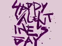 Valentine's Day Chinese Calligraphy