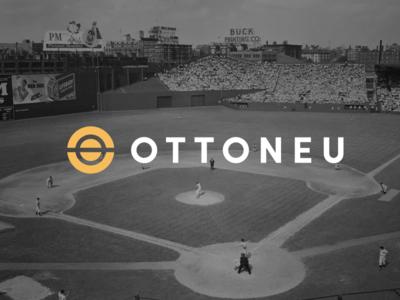 Main Ottoneu Logo simple football baseball logo