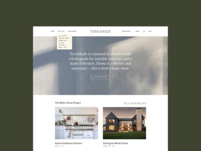 TerraMade Blog Design