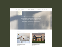 TerraMade Blog Design
