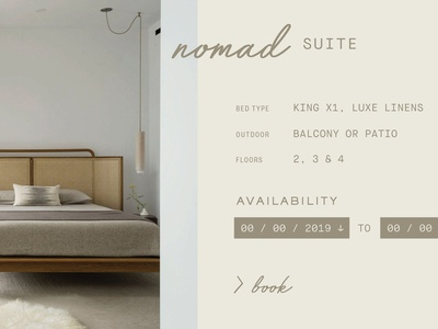 Boutique Hotel Website
