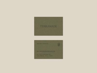 TerraMade Business Card