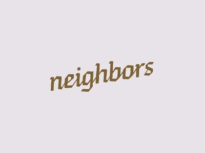 Neighbors Wordmark