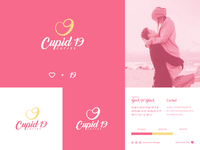 Cupid 19 Coffee   Logo Concept vector brand identity visual identity minimal logo branding logogram logo design logodesign logo design