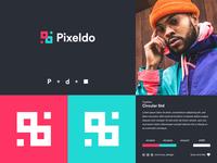 Pixeldo   Loco Concept minimal vector brand identity visual identity logogram branding logo design logodesign logo design
