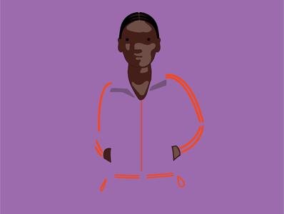 Character development 1 minimal vector illustration flat design