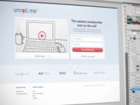 Web Service Website / Homepage