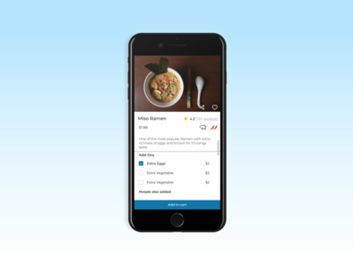 Buti Diner- a table side ordering app for restaurants.