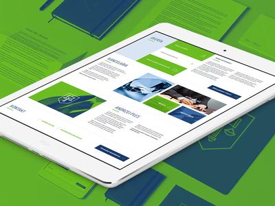 It's Hammer Time on Behance! lipiarz law logo design responsive flat green mobile blue office branding