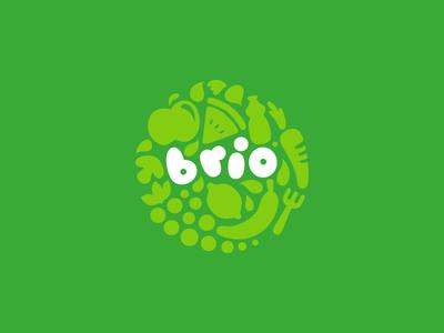 Eco Logic lipiarz logo bio ecological food bistro natural green