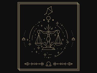 Happy Libra Season ♎♎. ui logo branding 2d illustration