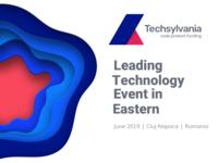 Techsylvania 2019 Edition Visual