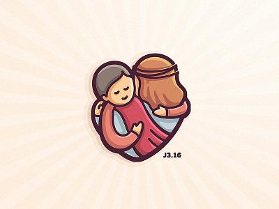j3.16 logo vector drawing dribbble character illustration cute mascot love
