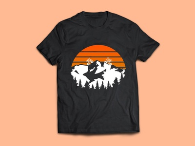 t shirt Design for Mountain bike Apparel