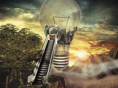 The Big Idea.  photoshop digital illustration image manipulation concept society idea