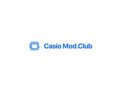 Casio Mod.Club Icon/Type Treatment