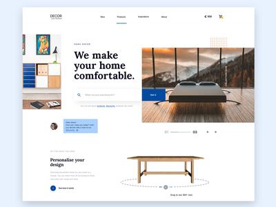 Furniture Homepage (wip)