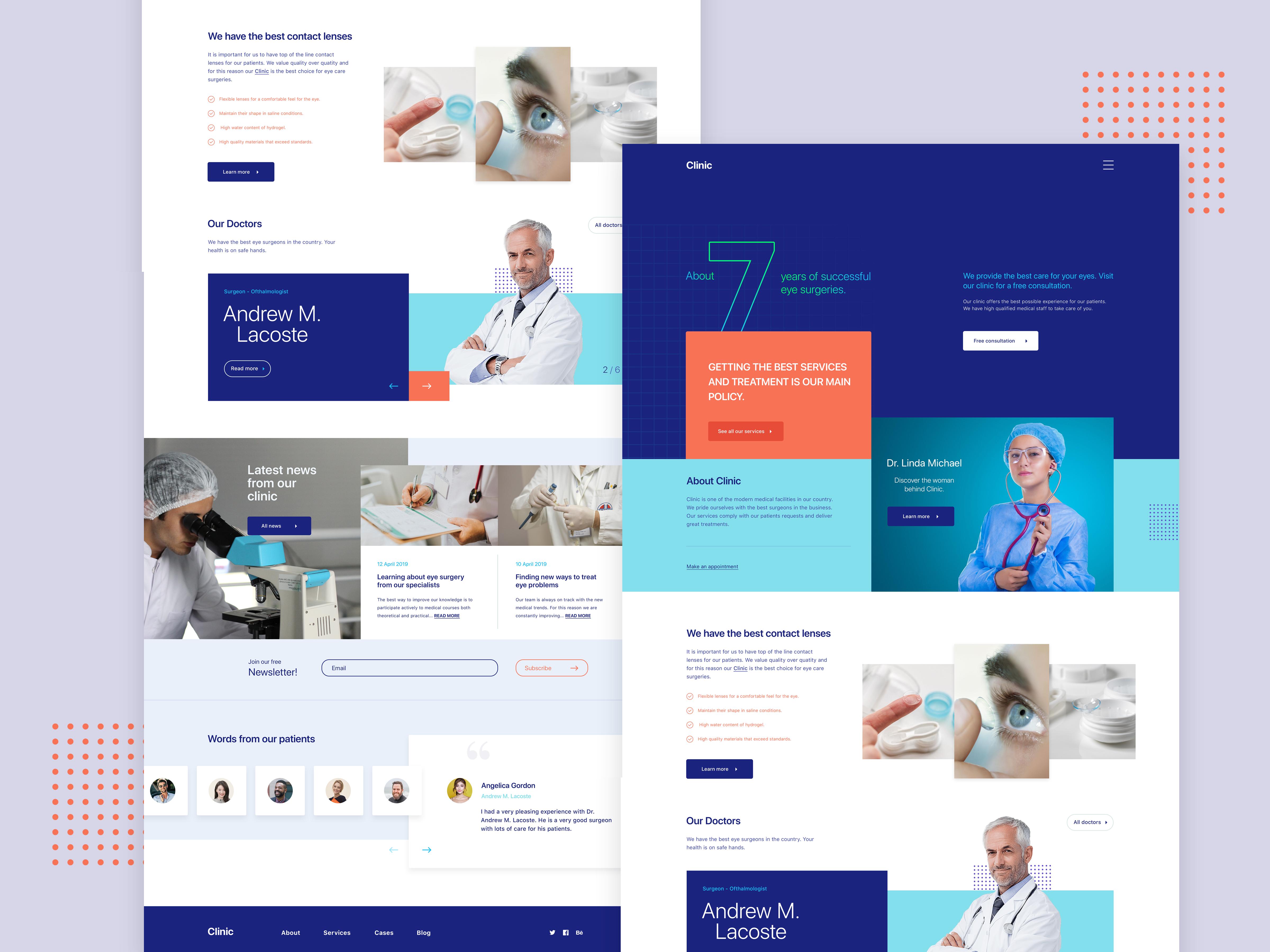 san francisco f9b39 90cc7 Clinic Website | Homepage | Search by Muzli