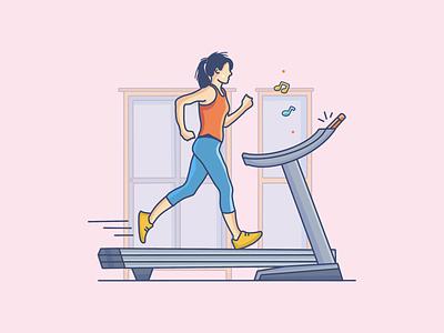 Fitness design pin gym health running character workout character design art vector artwork vector website site illustration design web sketch fitness drawing flat illustration art digital illustration illustration