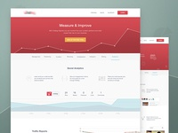 Feature pages - Analytics