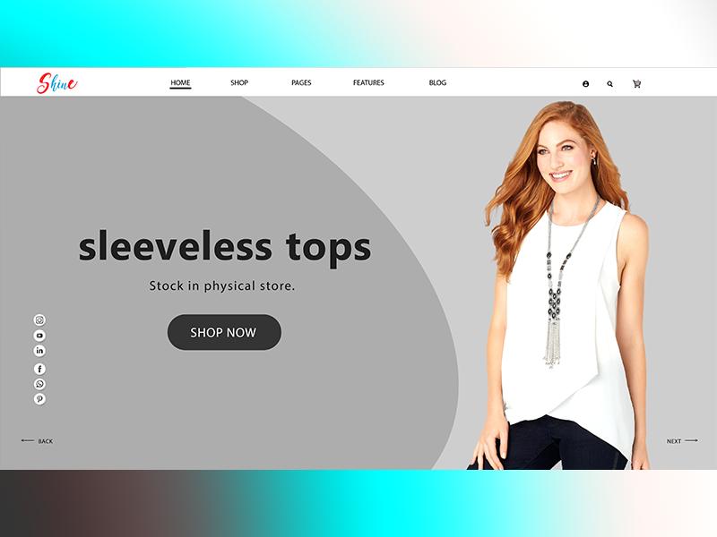 sleeveless top . typography illustration