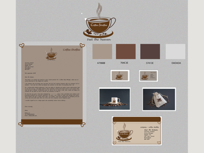 Mockup for Coffee.