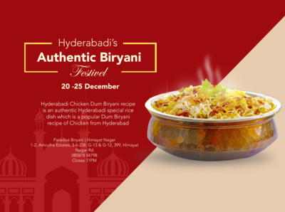 Food Festival poster.