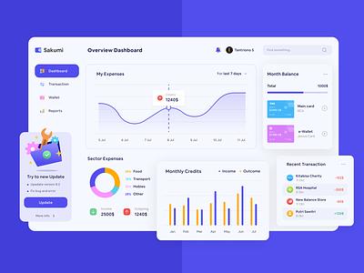 Moneytory Dashboard finance app financial app financial dashboard money management dashboard blue homepage app clean ui concept clean design design ux ui