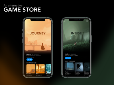 Game store concept