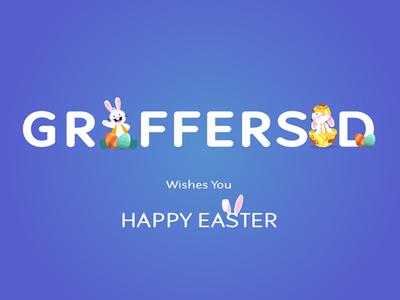 Easter 2019 graffersid illustration design designgraphic easter design easter poster easter sunday easter eggs easter bunny easter 2019 easter