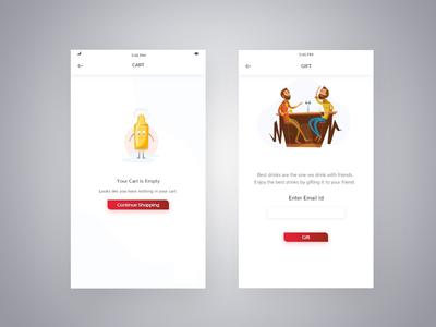 Message Screen UI
