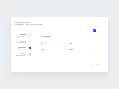 Stepper - Multi Step form design app ux designer website form stepper ui  ux ui
