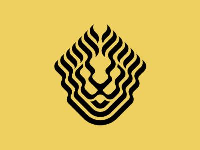 Unique Lion Head Logo