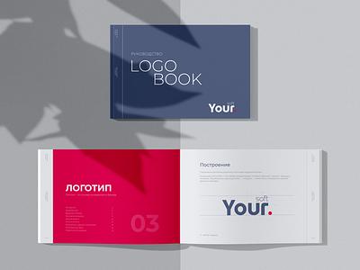 Logo Book branding minimal logobook logo