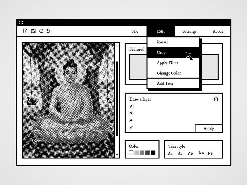 Mimihood desktop desktop design concept branding design branding product design web vector ux design ux ui design ui app minimal design