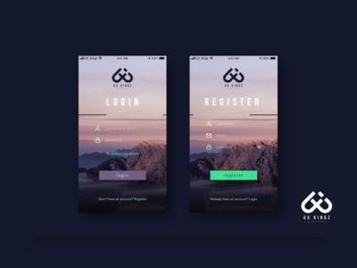 Login/Register - iOS
