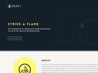 Flint // Logo, Website