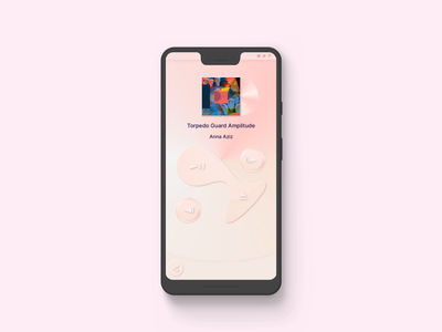 MotionLayout Disc Player ™ neumorphism ui android music player motionlayout