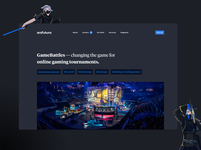 Esports App Case Study fortnite ios app android app call of duty gamebattles blizzard activision esports