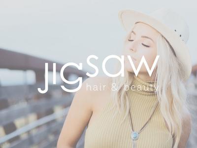 Jigsaw Hair & Beauty logo design visual identity branding