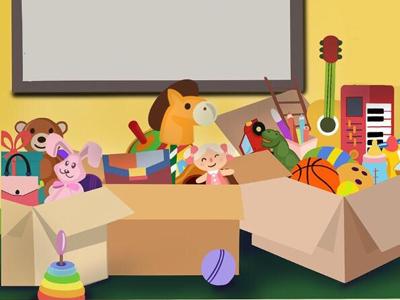 Toys illustration