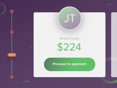 Payment process steps
