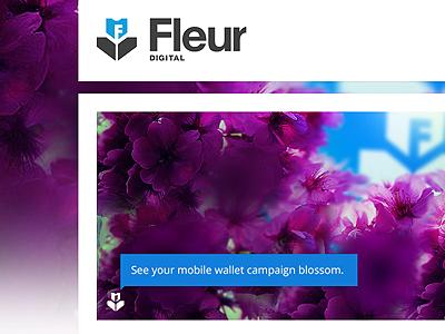 Fleur Web Design in progress fleur web design banner purple ui