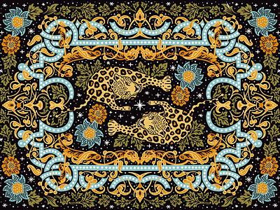 Jaguar 🐆 wallpapers pattern jaguar leopard illustration