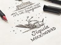 Drink Menu Design Tequila Mockingbird