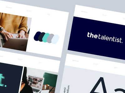 Brand guidelines - the talentitst user experience ui tool guidelines style guide scheme interface design design system dashboad contrast color palette colorful color branding balance app