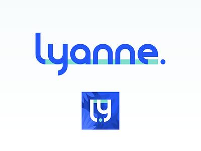 Brand exploration #1 - lyanne logotype logo design logos branding design brand brand design website logo branding brand identity illustration ux ui design